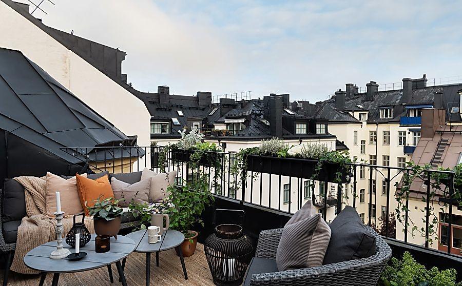 Las terrazas también son para el otoño