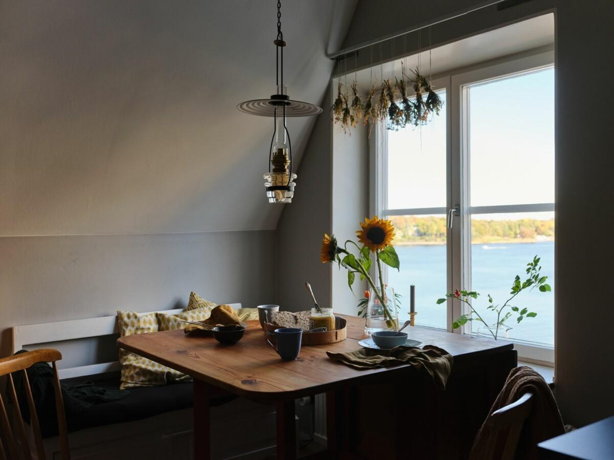 Pequeño apartamento vintage con vistas en Estocolmo