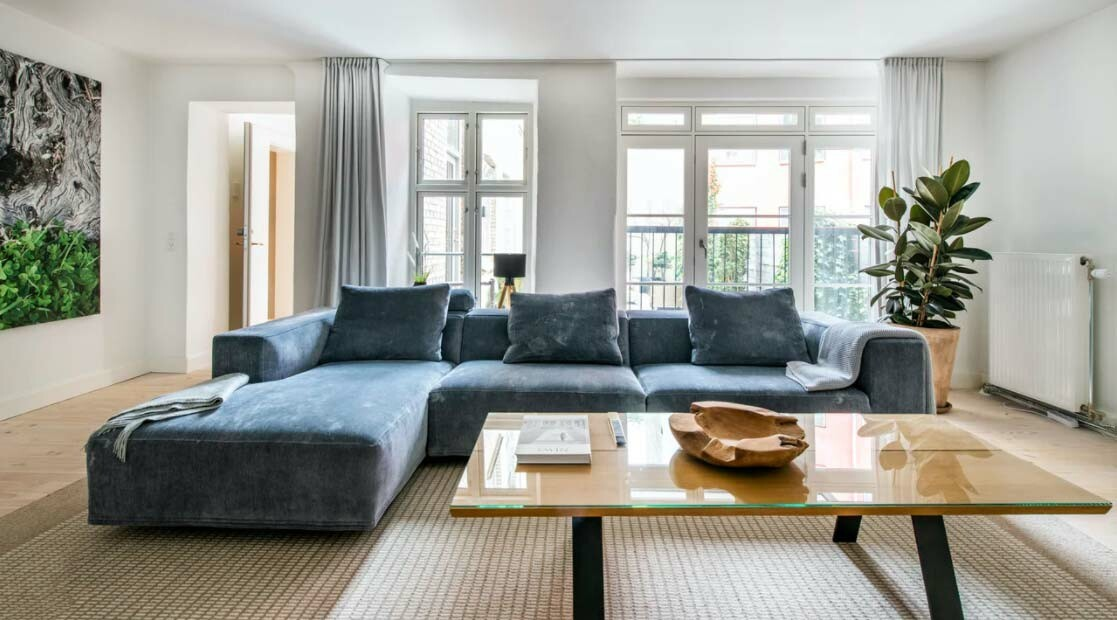 Lujo discreto en un espectacular apartamento en Copenhague