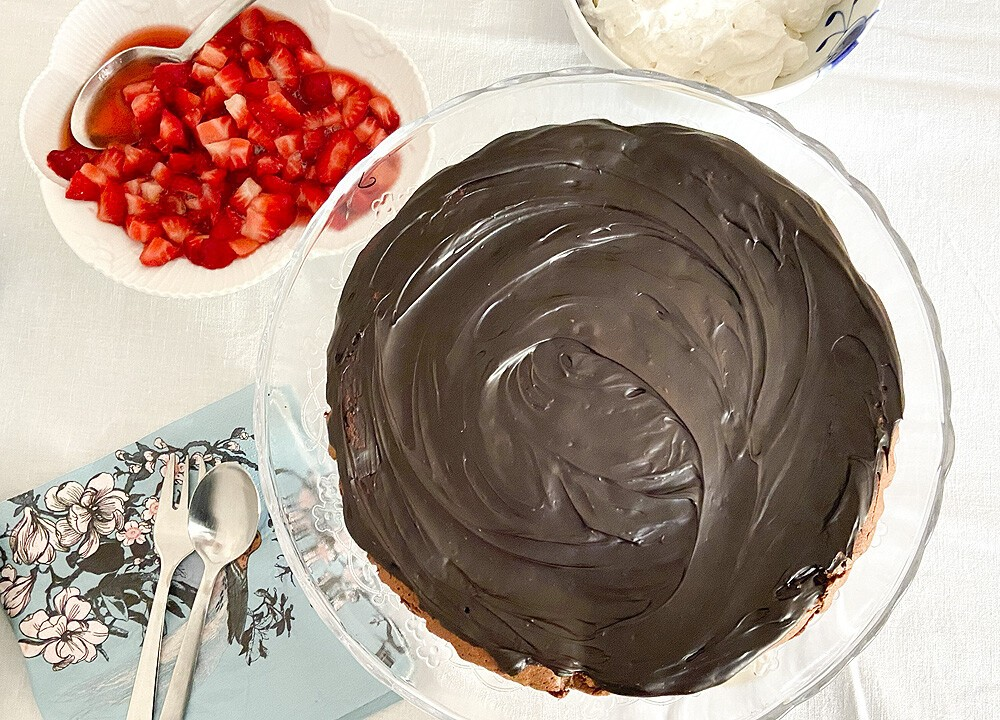 French chocolate cake (4 ingredientes ? sin gluten)