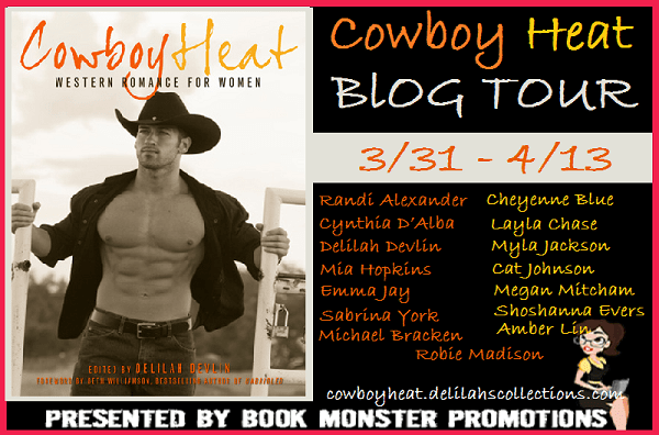 TOUR BUTTON - COWBOY HEAT Blog Tour