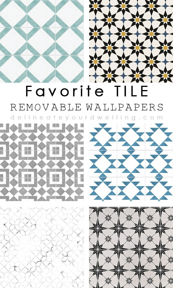 favorite tile removable wallpapers