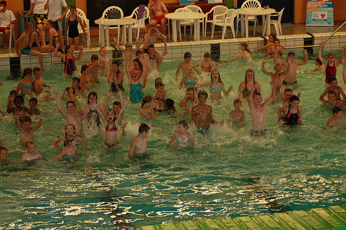 jeugd zwemmen