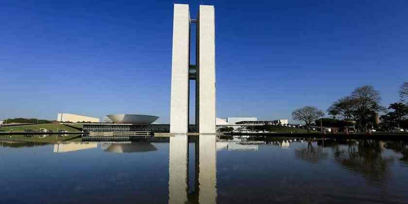 Brasília(DF), 24/08/2015 - Brasília _ seca_ Congresso Nacional. Foto: Rafaela Felicciano/Metrópoles