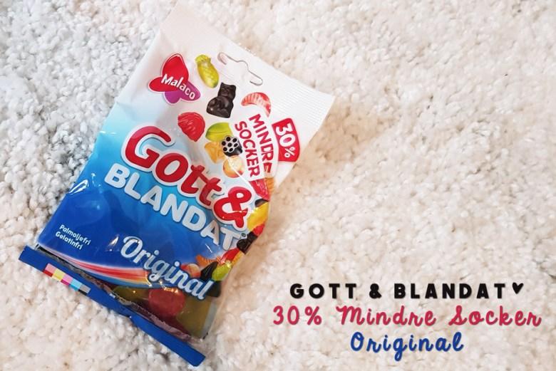 Malaco Gott & Blandat Original 30% mindre socker