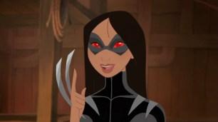 Mulan como X-23 (agora, Wolverine)