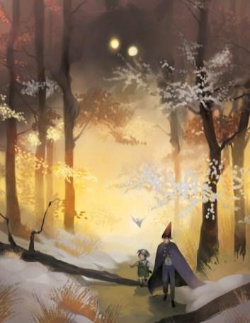 Arte: http://gavi-gavi.deviantart.com/art/Over-the-Wall-and-Through-the-Woods-511498787