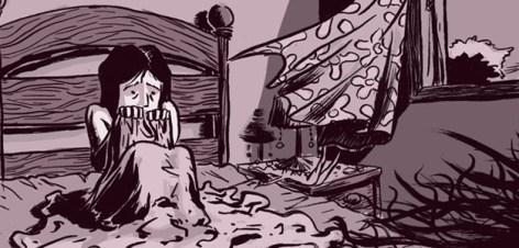 """Página de """"Beladona"""", com roteiro de Ana Recalde"""