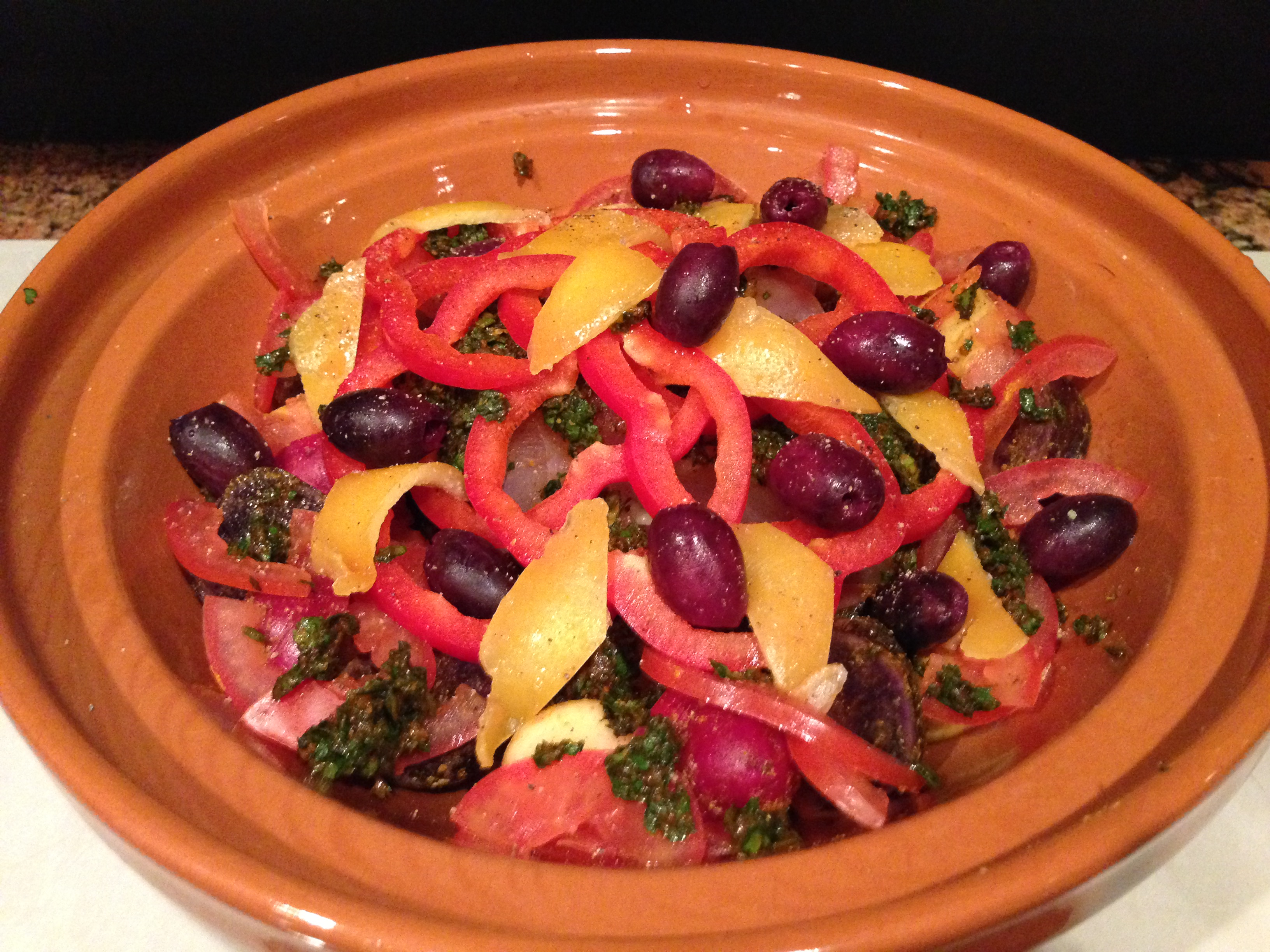 A Fragrant and Heavenly Moroccan Fish Tagine – Delish-dish ...