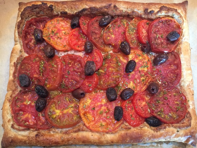 A Savory Tart makes a Great Side Dish!