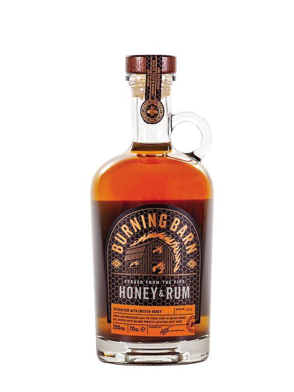Burning Barn Honey & Rum Liqueur
