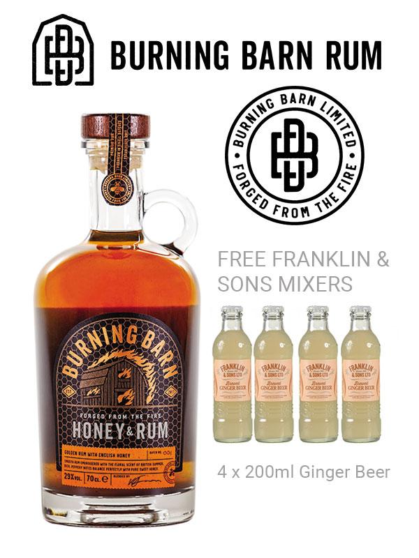 Burning Barn Huney Rum Offer