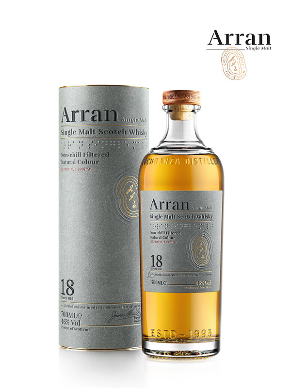 Arran Distillery 18 YO Malt Whisky