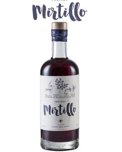Freihof Mirtillo & Juniper Liqueur