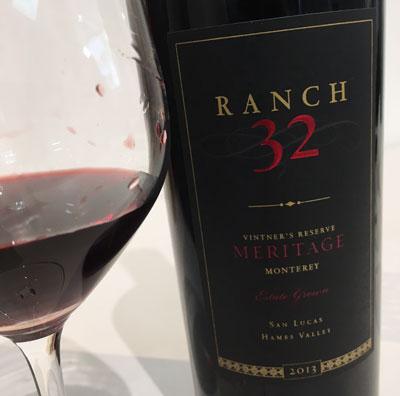 ランチ32 メリタージュ 2013 濃厚で滑らかさのある美味しい赤ワインです
