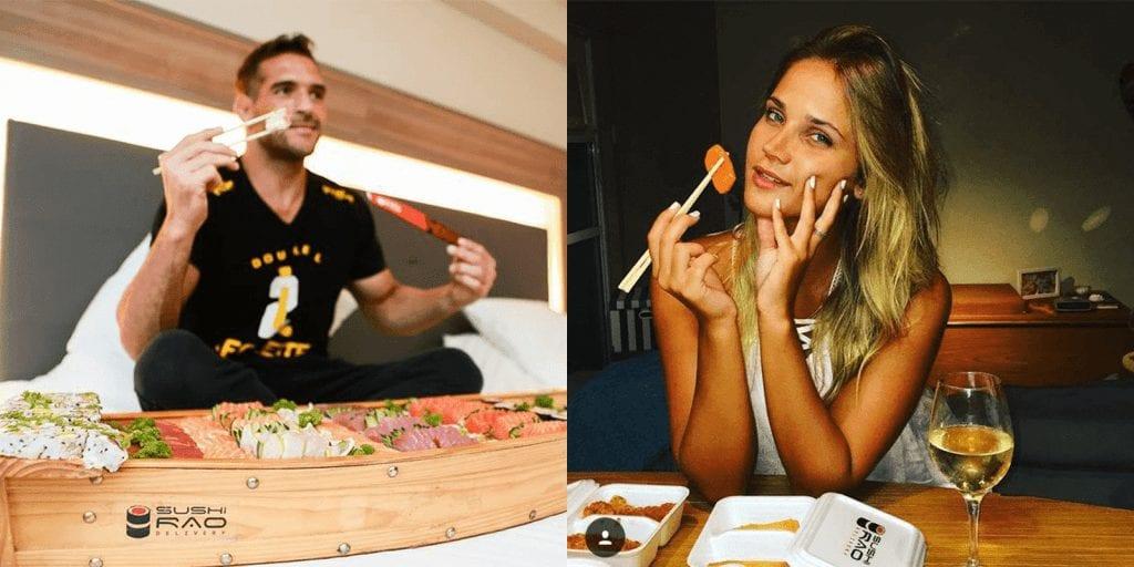 Clientes Sushi Rão - Delivery Sushi Rão, o Maior do Brasil. O melhor da Comida Japonesa na sua casa!