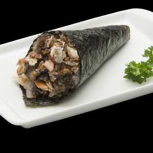 Temaki de Salmão Skin - Delivery Sushi Rão, o Maior do Brasil. O melhor da Comida Japonesa na sua casa!