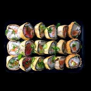 Novos Boxes, Box Hot - Sushi Rão, o Delivery que mais vende Hot Philadelphia no mundo! O melhor da Comida Japonesa na sua casa!