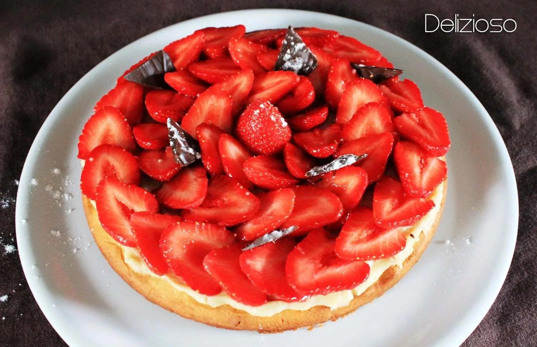 tarte aux fraises la p te sabl e aux amandes d lizioso. Black Bedroom Furniture Sets. Home Design Ideas