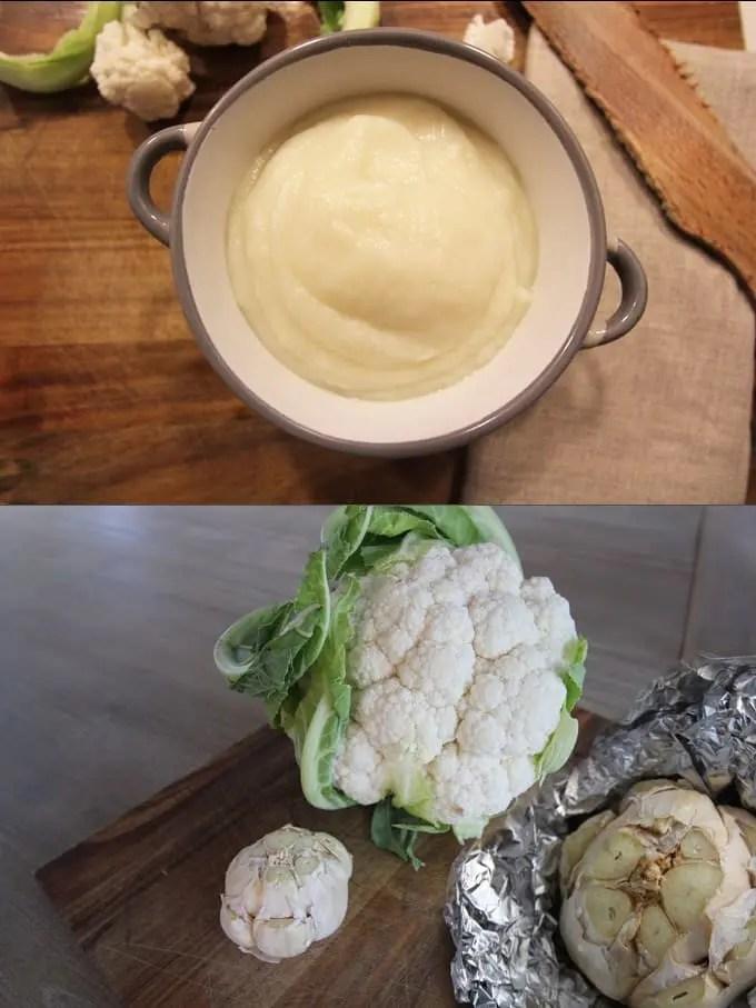 Sauce crémeuse magique - Chou-fleur et ail rôti ! - Délizioso