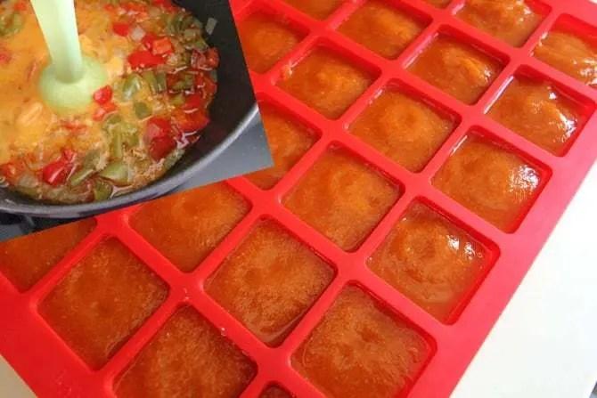 Sauce poivrons chorizo pour poissons blanc d lizioso - Cuisiner poisson congele ...
