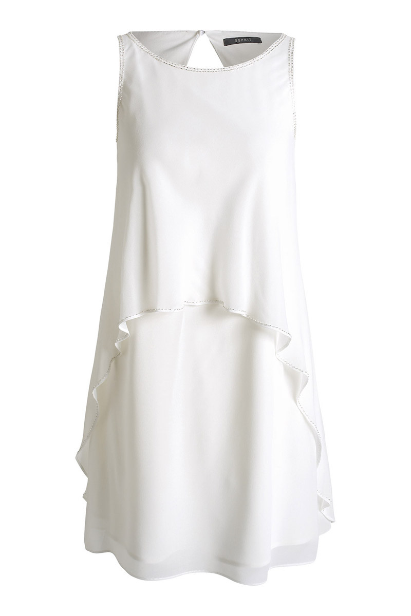 Esprit White Dress