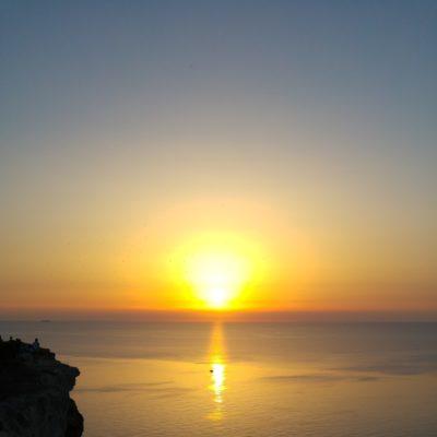 Tramonto da Albero Sole