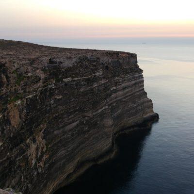 Veduta sulla scogliera da Albero Sole