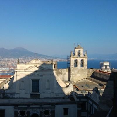 Veduta da Castel Sant'Elmo