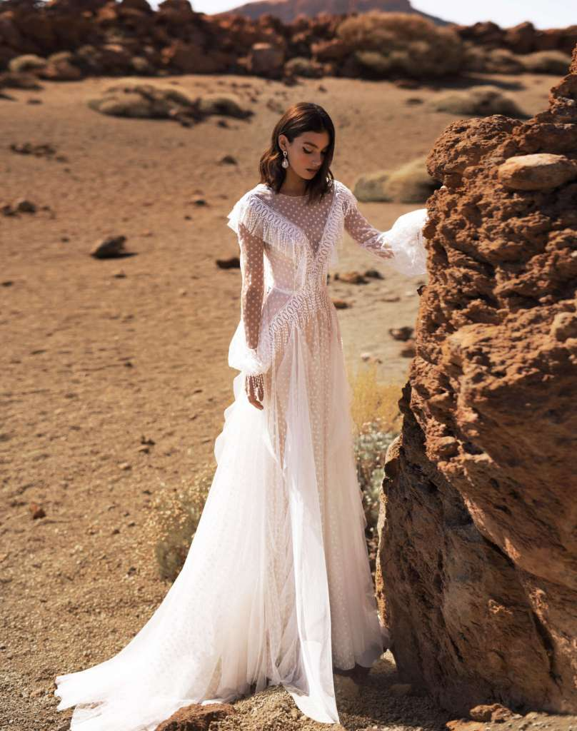 Addy wedding gown from the Dream Ocean Collection.