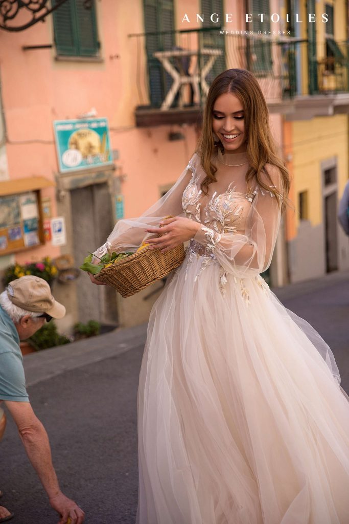 Wedding dress Ivona - ali d'amore collection