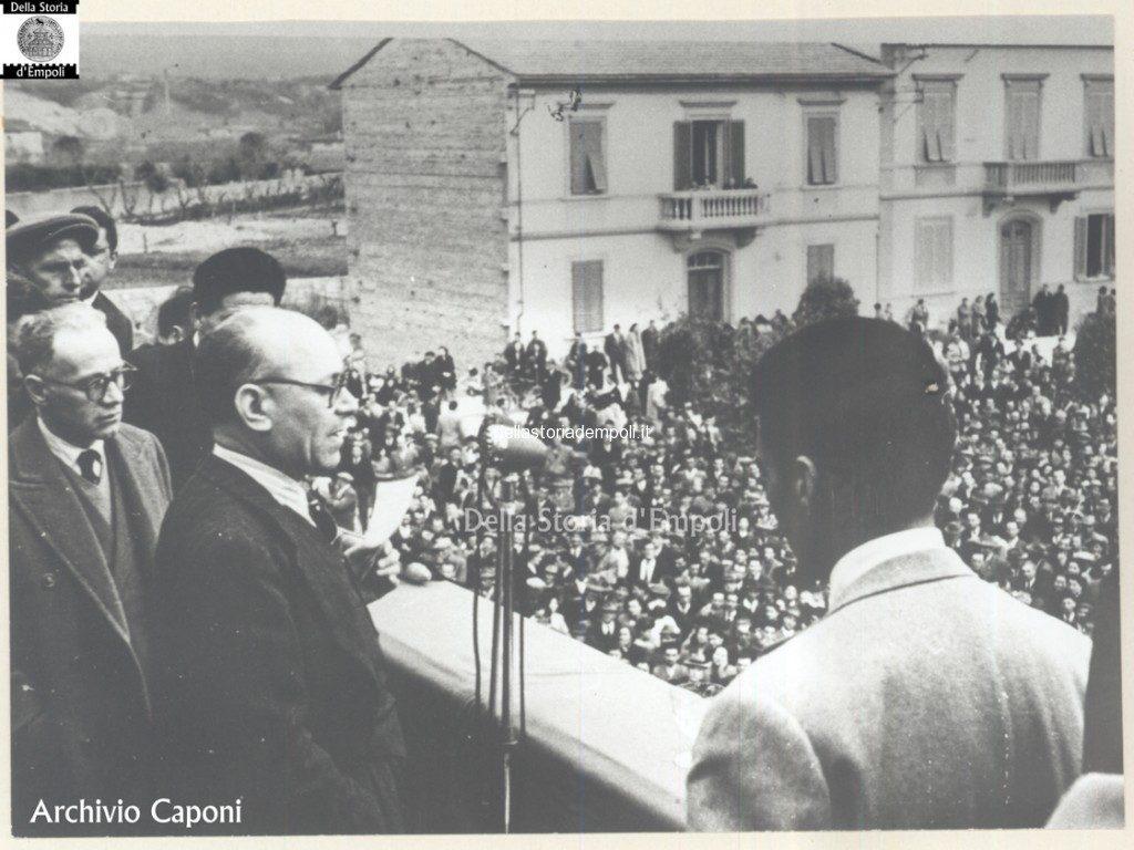 Primi Comizi Del Dopoguerra…