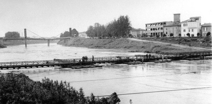 Il Ponte Di Barche 1968, Post Alluvione – Di Eugenio Argento