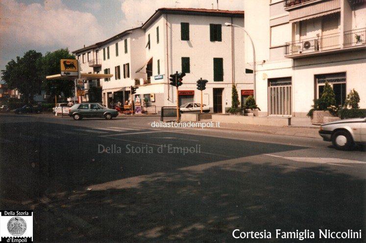 Distributore Agip Tra Via Ponsano E Via Cappuccini, 1995
