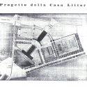 1938: Progetto Della Nuova Casa Del Fascio Sul Piaggione