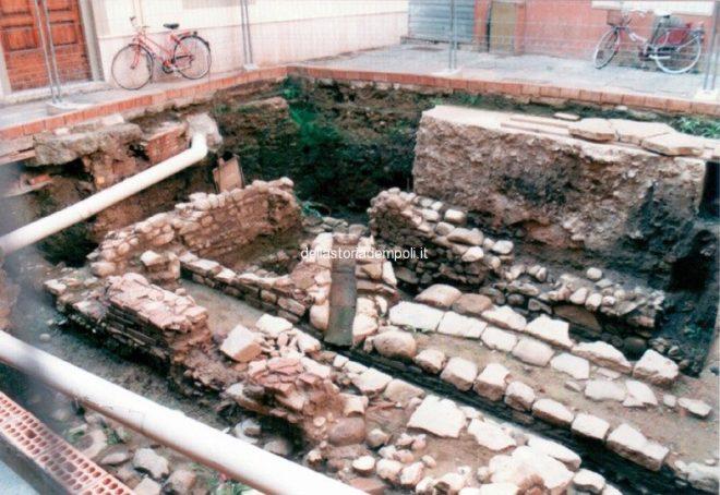 Empoli – Scavi Piazzetta Propositura 1999 5