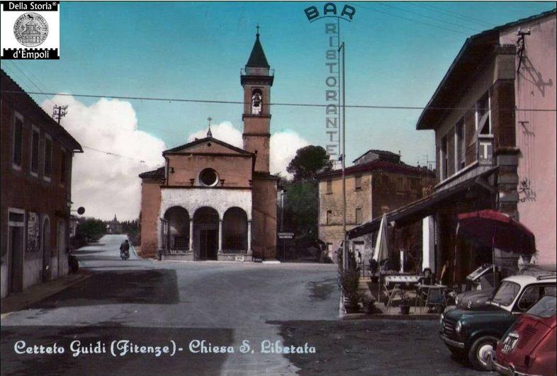 Cerreto Guidi - Santa Liberata anni 60