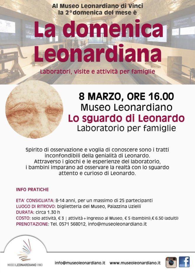 8.03 Lo Sguardo di Leonardo