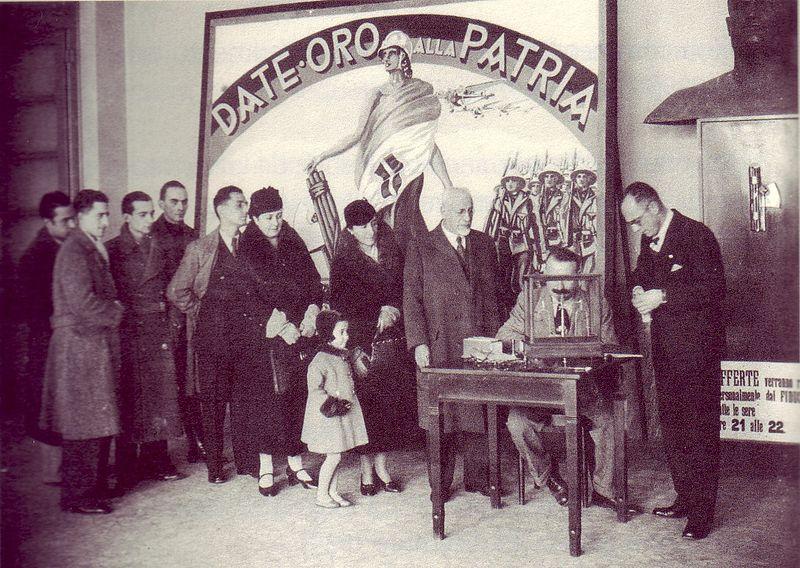 La Giornata Della Fede 18 Dicembre 1935 XIV E.F. A Empoli – Di Claudio Biscarini