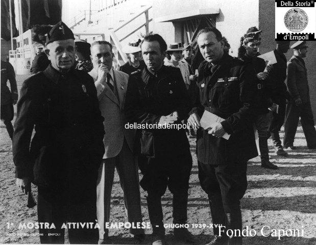 Allo stadio Martelli e la Mostra delle attività empolesi 1939