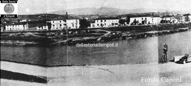 Arno all'altezza dei macelli in direzione sovigliana
