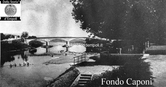 Arno e ponte vecchio visto dalla pinetina