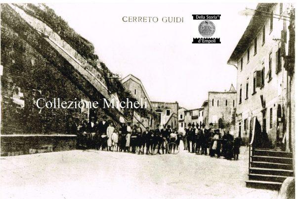 Cerreto Guidi - Villa Medicea davanti al Palazzo Guidi 2