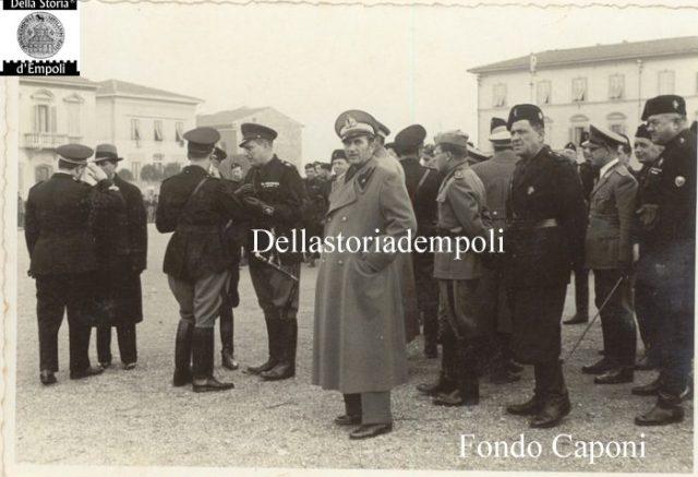 Adunata fascista in Piazza XXVIII ottobre oggi Piazza Gramsci