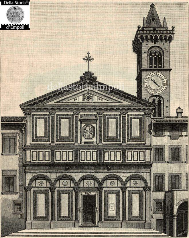 Empoli - Collegiata incisione di Roberto Barberis