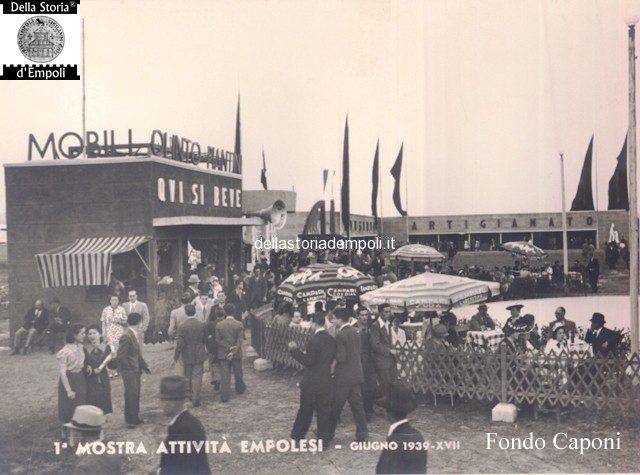 Fondo Caponi Empoli, Vol 2 Pagina 12: Alla Mostra Delle Attività Empolesi E Allo Stadio Martelli Nel 1939
