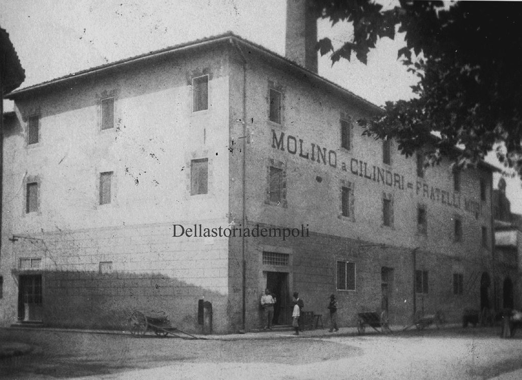 Empoli – Piazza Matteotti Mulino A Rulli Fratelli Mori Dal  Naldi