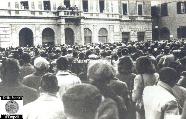 Empoli – Piazza del Popolo comizio 3