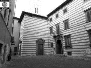 Empoli - Place of Propositura and the museum - Photo by C. Pagliai