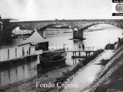 Fondo Caponi Empoli, Vol 1 Pagina 13: Il Fiume Arno, Le Lavandaie, Il Ponte Vecchio …